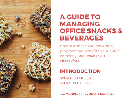 A Guide To Managing Office Snacks & Beverages