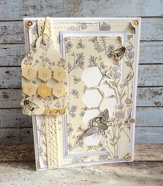 Free Tell the Bees Papers with this months PaperCrafter magazine