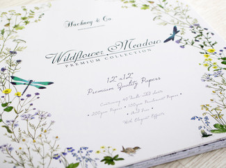 Hackney & Co Paper Craft Collection with Craft Consortium 'Wildflower Meadow'