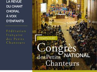 Nouvelle revue Pueri Cantores France