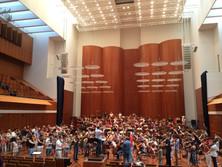Assistenz beim SWR-Sinfonie-Orchester in Freiburg