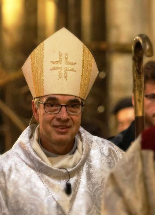Mgr Jérôme Beau, 133e Archevêque de Bourges