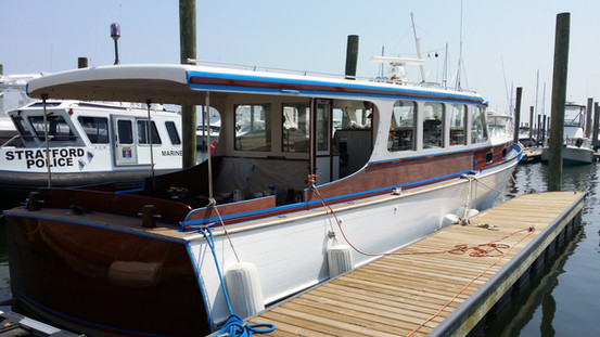 Wooden Yacht Varnish