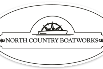 North Country Boatworks Oval Decal