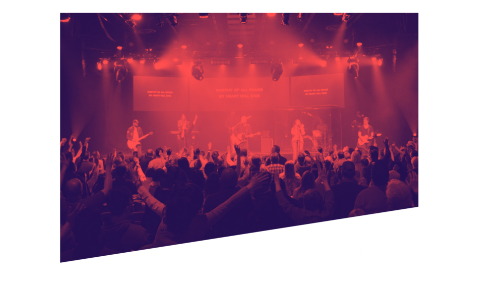Photo of people worshiping at Catch The Fire