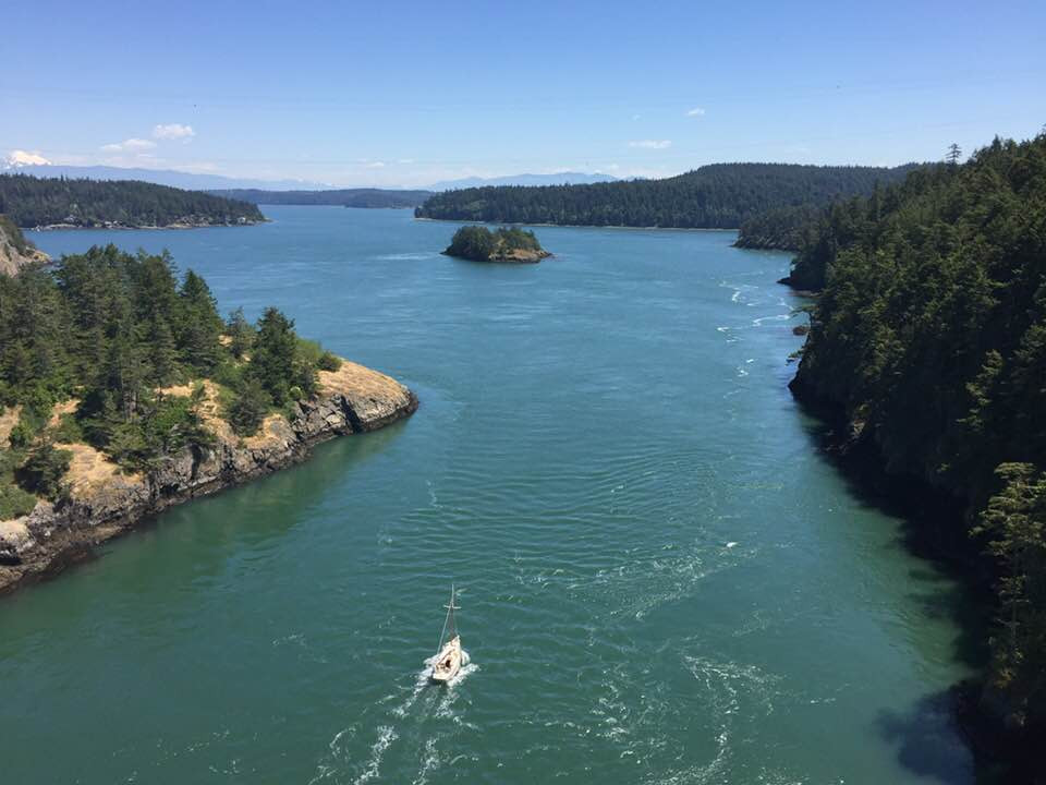 Deception Pass: view from the bridge