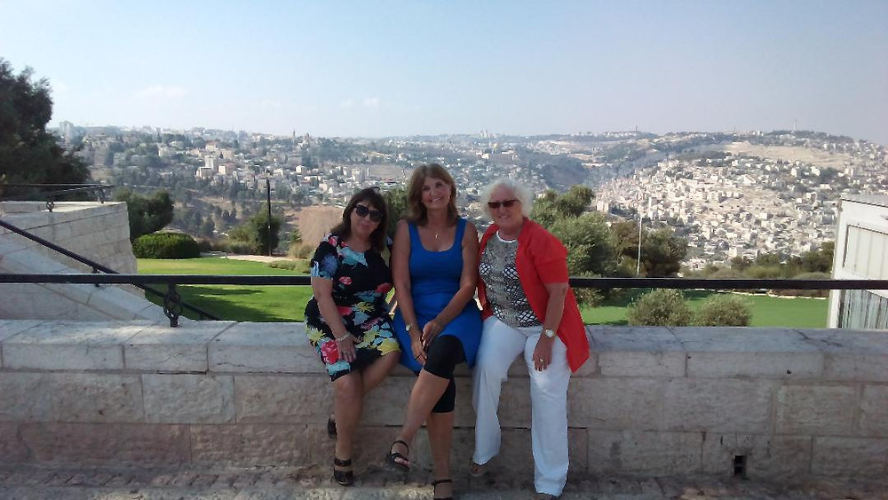 Blessed and honored to be in Jerusalem with powerful woman of God!