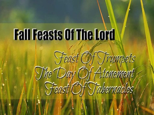 Grass with the list of the fall feasts of the Lord.