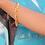 Thumbnail: Simone Snake Bracelet-Gold
