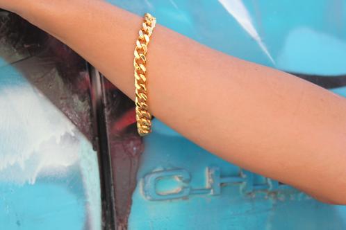 Simone Snake Bracelet-Gold