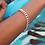Thumbnail: Simone Snake Bracelet- Rose Gold