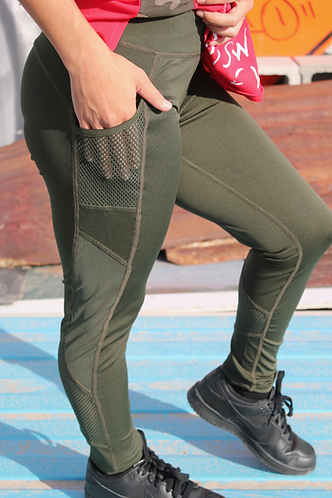 Kimberly Leggings-Green