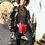 Thumbnail: Khadijah Fringe Fanny Pack- Red