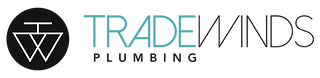 Updated Aqua - Trade Winds Logo Color+ t