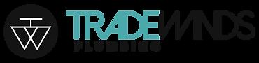 Updated Aqua - Trade Winds Logo Color+ t