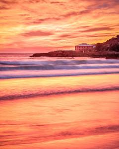 Fiery Dawn Tathra Beach
