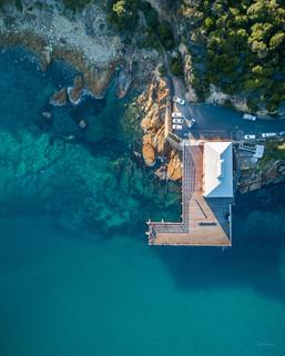 Tathra Wharf Aerial