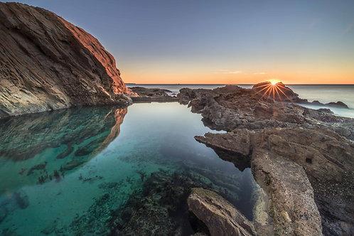 Bermagui Blue Pool Sunrise