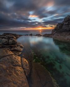 Dawn at Tura Beach Headland