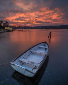 Sunset at Fishpen Merimbula