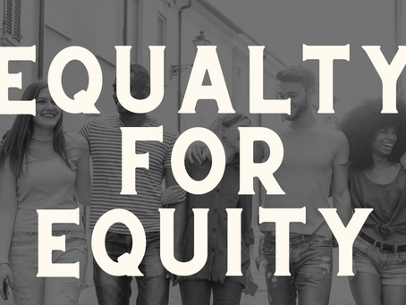 Equality For Equity Webinar - 29th April 2021
