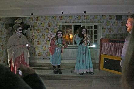 Orphange Returns Spooky Duo