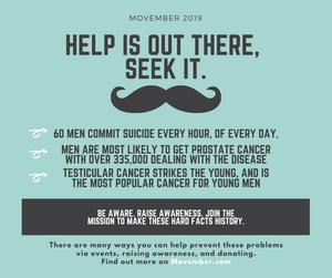 Movember poster Alt Valley