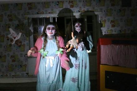 Orphange Returns spooky twins
