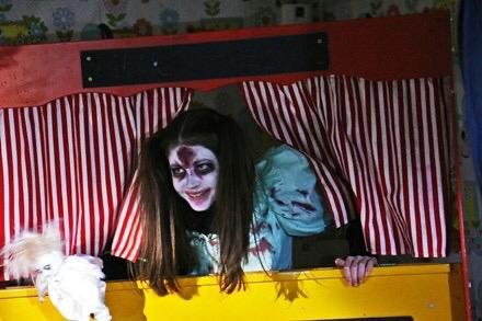 Orphange Returns puppet show guest
