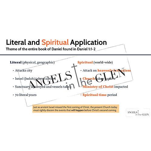 Daniel 1 - Theme of the Entire Book of Daniel, Literal v. Spiritual