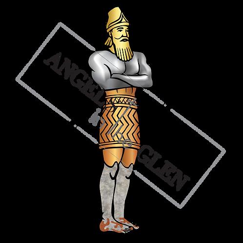 Metal Man Image from Daniel 2 (PNG)