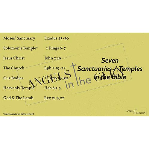 Daniel 1 - Seven Sanctuaries/Temples of the Bible