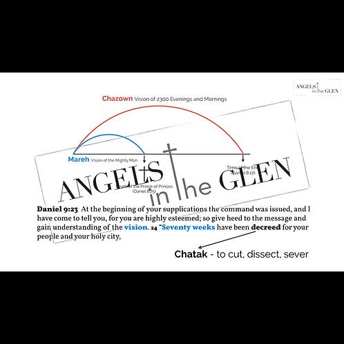 Daniel 9 - Diagram of Mareh/Chazown Relationship