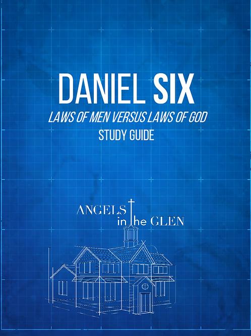 Daniel 6 Study Guide - 39 Pages, PDF