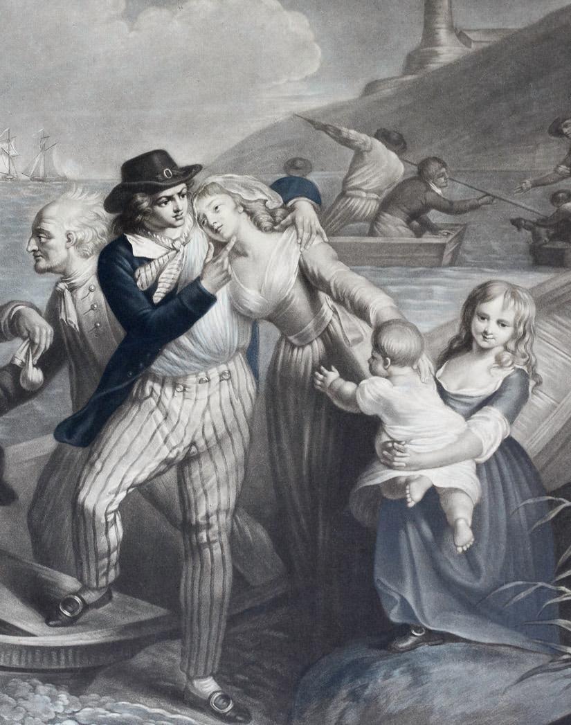 The Sailor's Farewell - Print
