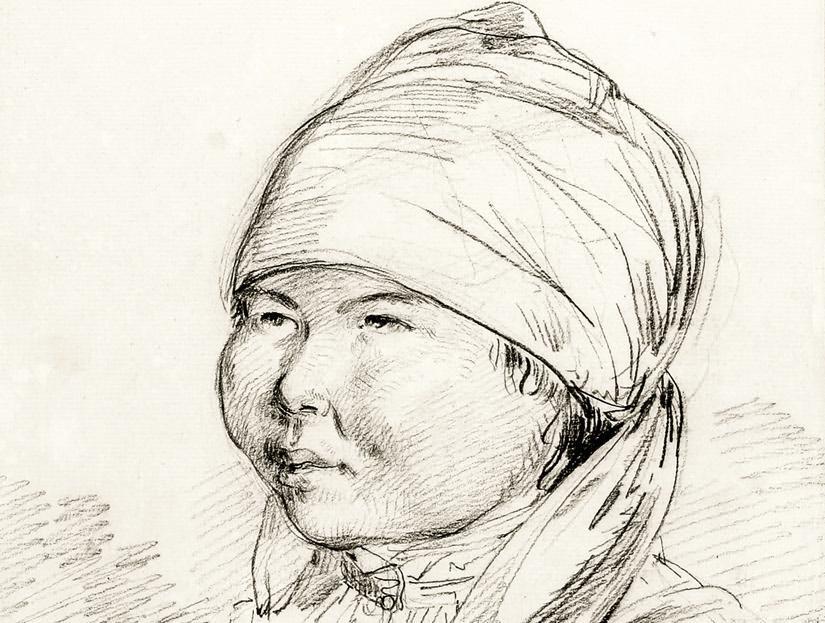 John Webber - A Woman of Kamtschatka