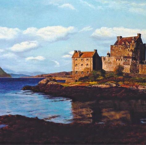 Island of Donan Scotland