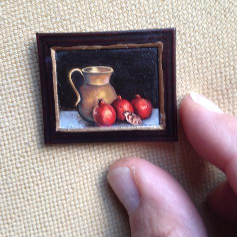 Miniatuur voor poppenhuis