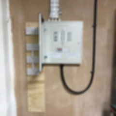 New consumer unit to office conversion #hagargang #sparks