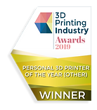 3DPI badge winner_Personal_3D_Printer_Ot