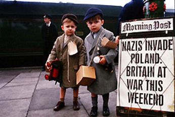 Children evacuees during WWII