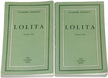 Lolita by Vladimir Nabokov Olympia Press