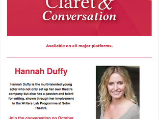 A podcast conversation with young creative, Hannah Duffy