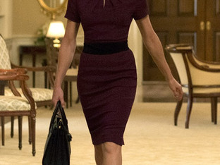 'Showing Not Telling' with Claire Underwood's wardrobe in House of Cards