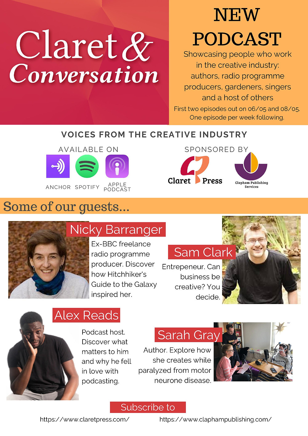 Claret and Conversation Podcast