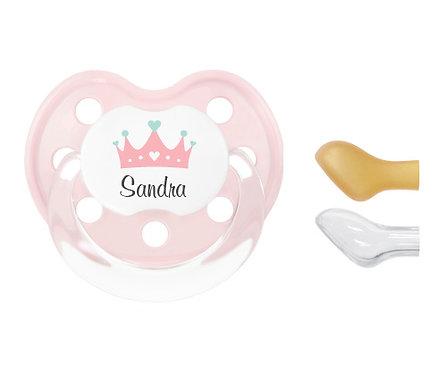 Chupete personalizado Princesa