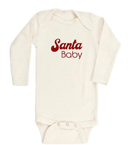 Body - camiseta Santa Baby