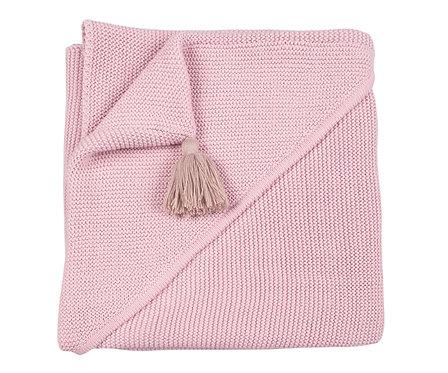 Capa arrullo rosa personalizada