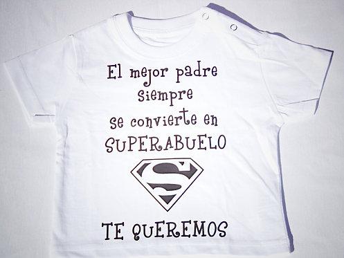"""Camiseta """"SUPERABUELO"""""""