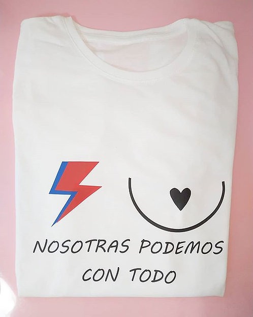 Camiseta Súper Mujer